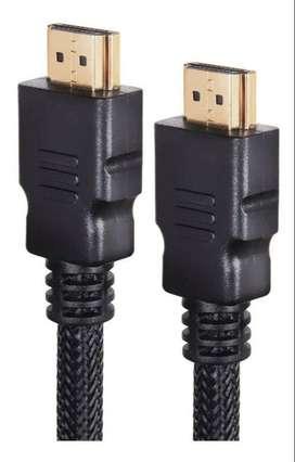 Cable HDMI 1.8 Metros Doble Filtro Con Malla- costo 10 mil