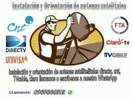 Instalación Antenas Directv Cnt Univisa