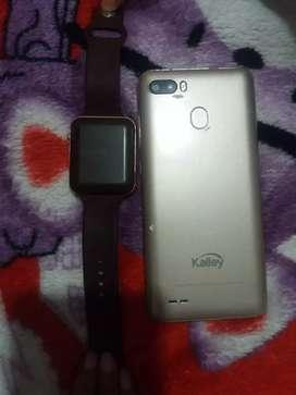 Venta de reloj tanctil y celular kalley