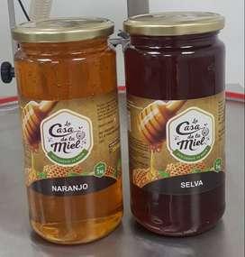Miel De Flores Del Naranjo Eucalipto Nispero Algarrobo Del Norte y de Churin