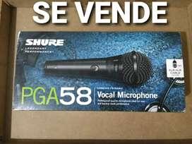 Microfonos Shure PGA58