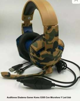 Audífonos Diadema Gamer G305