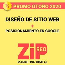 ZIPSEO - Diseño de Sitio Web y Posicionamiento en Google