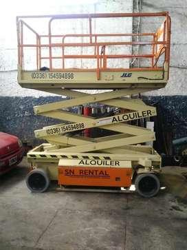 Alquiler plataforma para trabajo en altura