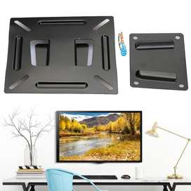 Bases soportes lcd led kit montaje fijo monitor computador o Tv 10-24 pulgadas