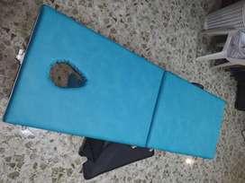 Camilla portatil azul