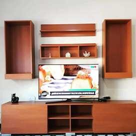 Mueble de living flotante moderno