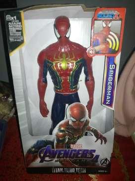 Spider man, frozen elsa
