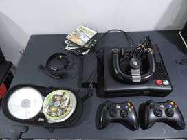 XBOX 360 slim con accesorios
