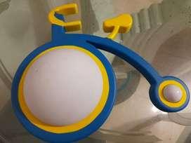 lampara importada en forma de bicicleta
