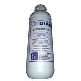 Acido Peracetico OXIDIAL, sanitizante para industria cervecera