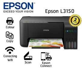NUEVA IMPRESORA EPSON L3150 CON WIFI stock limitado