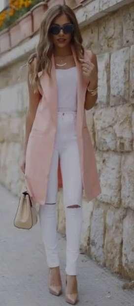 Gabán rosa