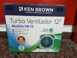 Turbo Ventilador 12 Pulgadas 40 Watts