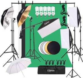 Kshioe Kit De Iluminación Para Estudio Fotográfico