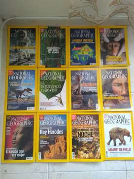 12 REVISTAS NATIONAL GEOGRAPHY