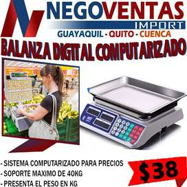 BALANZA DIGITAL COMPUTARIZADO EXCLUSIVAMENTE DESCUENTO SOLO EN NEGOVENTAS