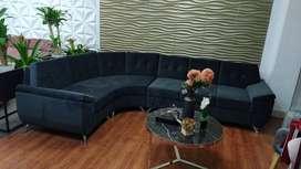 Hermoso sofá en L para estrenar!!!
