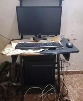Pc De Torre Intel Celeron 8gb - 1 Tera - 21.5  Teclado+mouse
