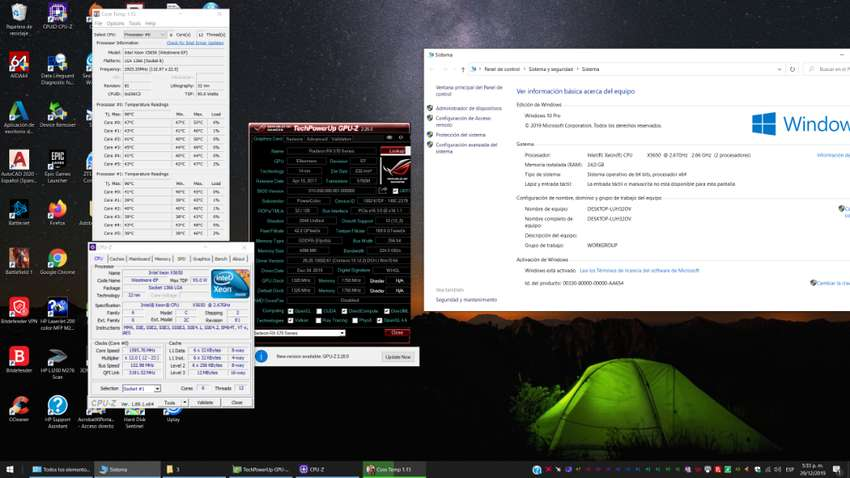 TORRE GAMER 12 NUCLEO 2 PROCESADORES 24GB RX 570 SSD 0