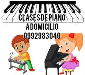 Clases de piano y teoría musical a domicilio