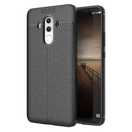 Estuche Forro Funda Tipo Cuero Huawei Mate 10 Pro