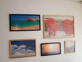 Cuadros con paisajes de la Guajira