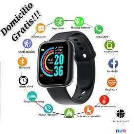 Smartwatch Reloj Inteligente D20/Y68 Bluetooth