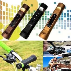Parlante Portatil Mp3 Fm Linterna Led para Bicicletas
