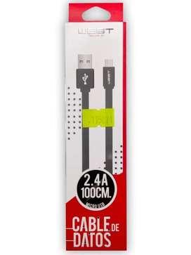 Cable de datos micro USB West