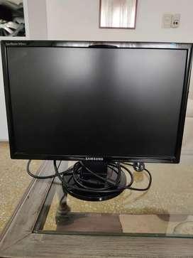 Monitor LCD Samsung computadora