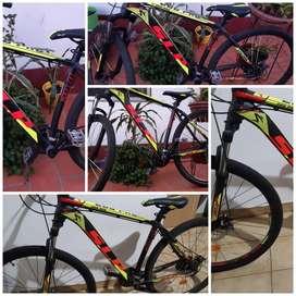 Se vende bicicleta slp pro200 rodado 29 talle l