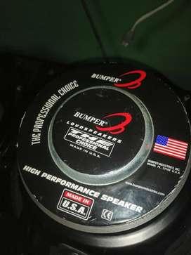 Parlantes Bumper americano de 12 pulgadas 400 rms