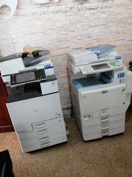 Ricoh 6003 y 5501