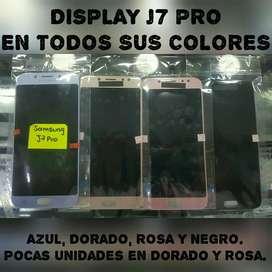 Display J7 Pro Azul, Dorado, Rosa, Negro