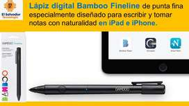 Lapiz Digital Bamboo Fineline para Escribir en Iphone y Ipad