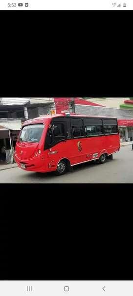Se vende o permuta buseta NKR de 19 puestos afiliada a flota cambulos modelo 2006 en exelente estado t