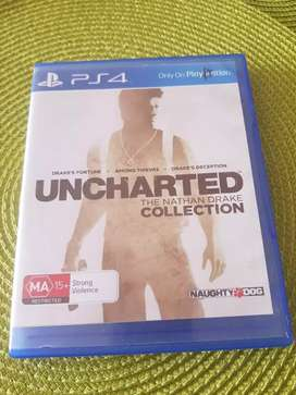 UNCHARTED COLLECTION (PS4)