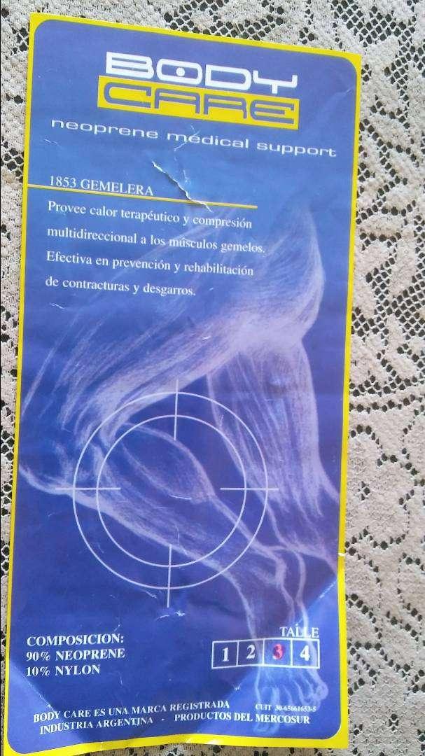 Gemelera Body Care, Neoprene, Color Azul. SIN USO. PERFECTO ESTADO. 0