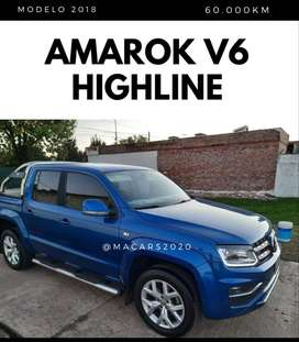 v6 Amarok Highline 4x4 automatica 2018