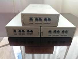 Display and print connecting box para cabinas telefonicas
