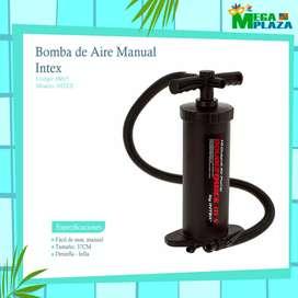 Bomba de Aire Manual Intex