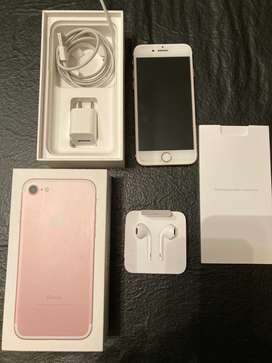 IPhone 7 32 Gb Oro Rosa Excelente Estado