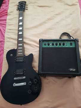 Vendo guitarra Stagg y amplificador Stagg
