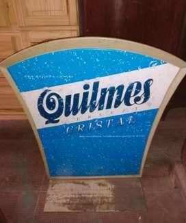 Vendo Cartel de Quilmes(plastico)