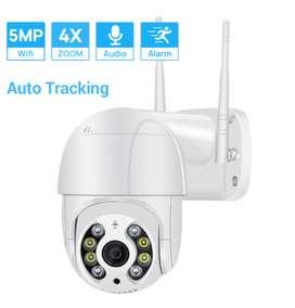 Camara Ip Wifi Seguridad Int / Ext 5mp Full Hd Alarma Domo