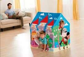 Casa carpa Intex castillo medieval niño - niña  camping