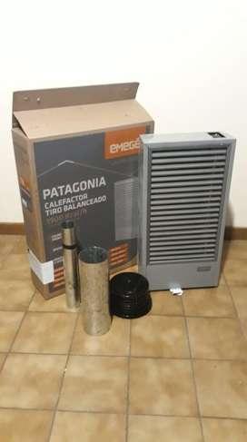 Calefactor Emege Patagonia 1900 Kcal Tiro Balanceado