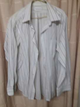 Camisa Blanca a Rayas