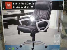 silla ejecutiva de espaldar alto TRUE innovations